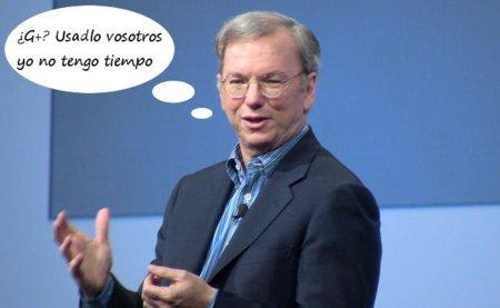 La cúpula directiva de Google no utiliza Google+