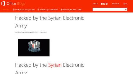 Microsoft reconoce el robo de documentos en la intromisión en sus blogs y cuentas de redes sociales