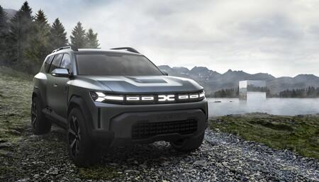 El Dacia Bigster Concept adelanta un hermano para el Renault Duster, con precio de B-SUV y tamaño de CR-V