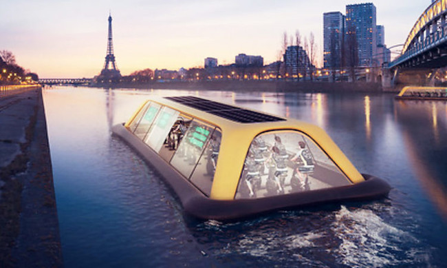 Paris Floating Gym 6