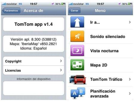 TomTom 1.4, el navegador GPS por excelencia se actualiza para iOS 4.0