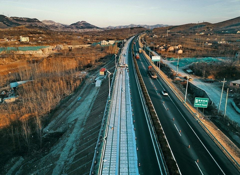 Carretera Solar China(pais) 4