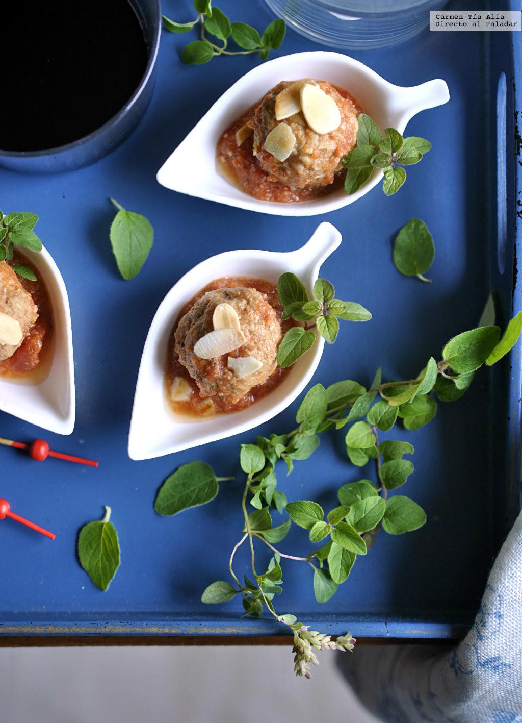 Albóndigas A La Provenzal En Crockpot Receta De Cocina Sencilla Facil Y Deliciosa