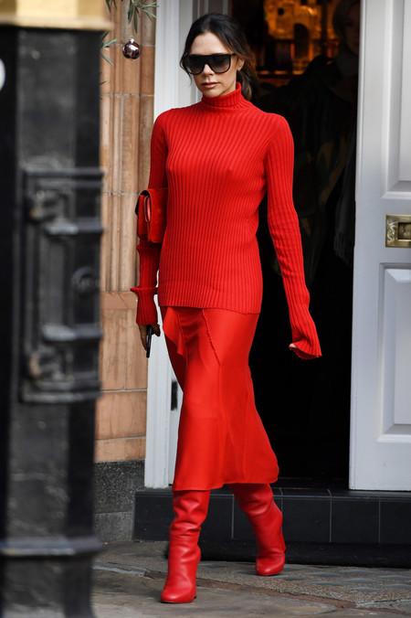Combinar Jersey Rojo