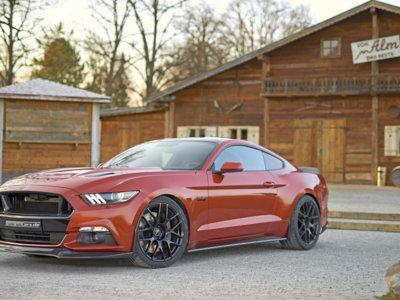 Ford Mustang GT 820: GeigerCars lo atiborra de fibra de carbono y exprime su V8