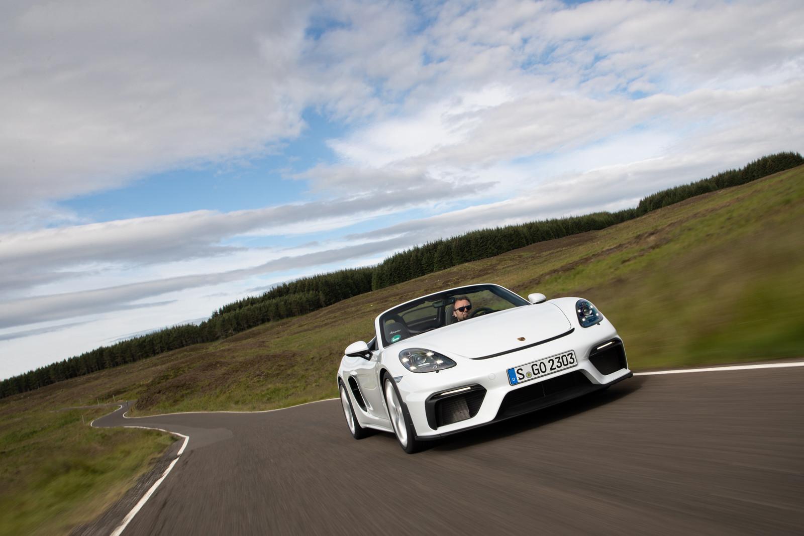 Foto de Porsche 718 Spyder (prueba contacto) (29/296)