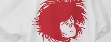 Mafalda siempre estará en nuestra memoria, y ahora puede invadir nuestro armario con la nueva colección de Pull & Bear