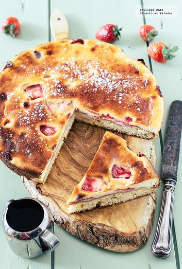 Pastel de queso y fresas: receta para acompañar la sobremesa