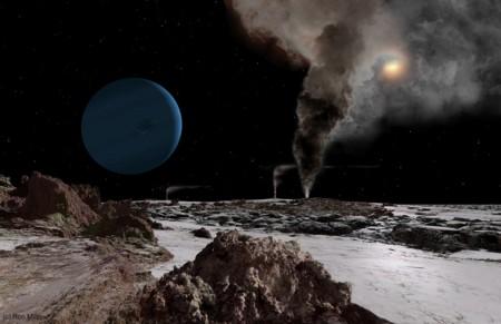 08 Sun Seen From Triton Neptune