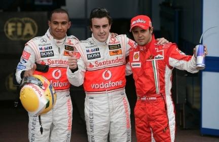 Alonso o Hamilton, no parece haber más