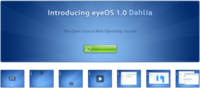 EyeOS 1.0. Dhalia ya está listo