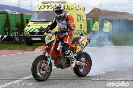 Arranca el Campeonato de España de Supermotard 2012 en Villena con magníficos duelos