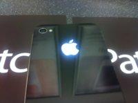 Pack para iluminar la manzanita trasera del iPhone 4 con LED