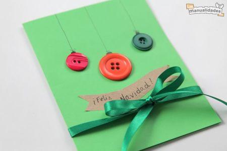 ¿ Quieres aprender a hacer una bonita tarjeta navideña?