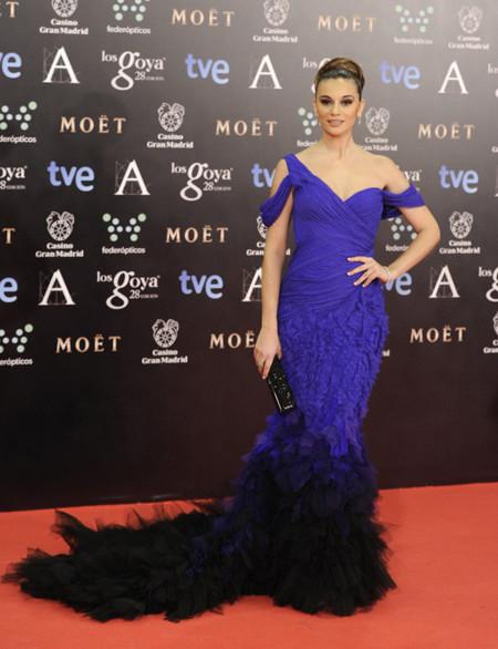 Norma Ruiz peor vestidas Goya 2014