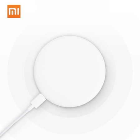 Cargador inalámbrico Xiaomi Qi Standard, válido para iPhone y Samsung, por 25,49 euros con este cupón