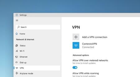 Windows 10 Vpn Design Mockups