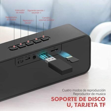 Bocina Bluetooth con descuento en Amazon México