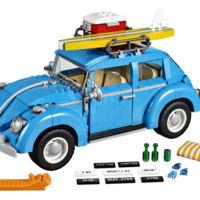 Más de 20 cm de largo y compuesto de 1.167 piezas, así es el Volkswagen Escarabajo de Lego