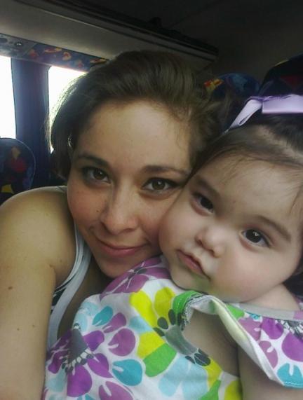 La foto de tu bebé: el abrazo de Valentina y mamá