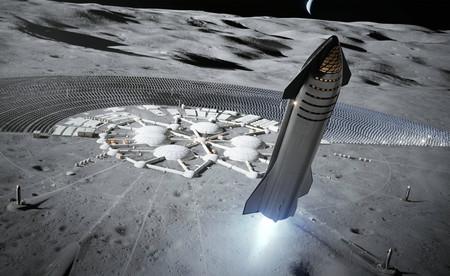 SpaceX tiene en la mira a la Luna: la llegada de Starship antes de 2022 y después enviar recursos para la llegada de humanos en 2024