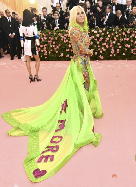 Donatella Versace gala met 2019