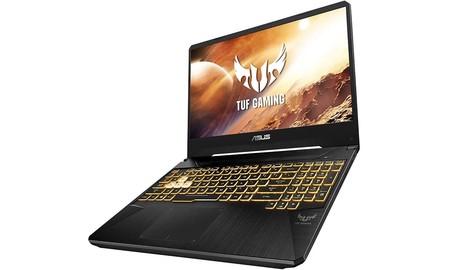 En la gama media y con potencia suficiente para jugar, el ASUS TUF Gaming FX505GT-BQ025 es más barato ahora en Amazon: 799,99 euros