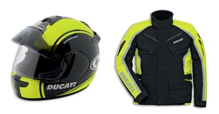 Ducati se alía con Arai y Rev'it!. Alta visibilidad y calidades premium