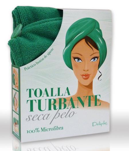 Este verano, toalla turbante Deliplus, y siéntete la favorita del harén