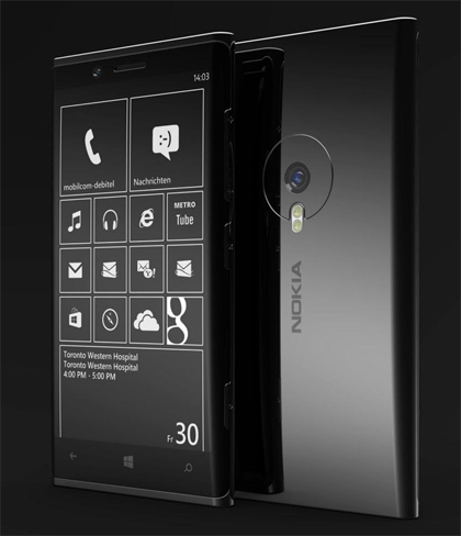 Phone Designer recrea cómo le gustaría que fuera un Nokia Lumia de aluminio