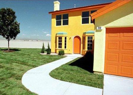 Casas poco convencionales: la casa de los Simpson es real