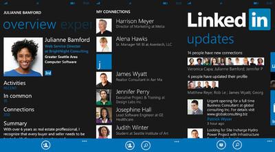 LinkedIn para Windows Phone se actualiza con nuevas funciones