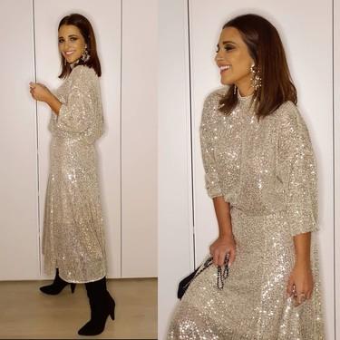 Copiamos para esta Nochebuena el look de Paula Echevarría de H&M y por menos de 50 euros