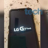 LG G7 ThinQ: 'nuevo nombre' para el próximo estandarte surcoreano que de nuevo se deja ver en fotos