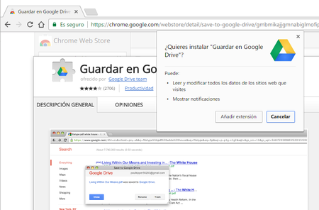 Google Drive Chrome Web Store
