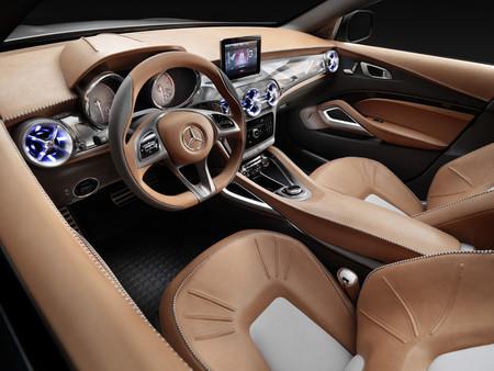 Mercedes-Benz GLA Concept, vista interior