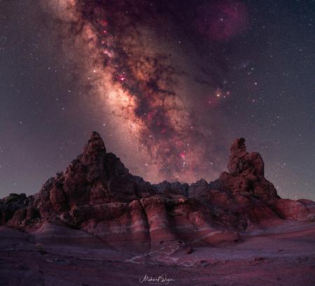 Via Lactea Sobre El Parque Nacional Del Teide Mehmet Ergun