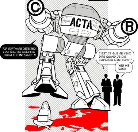 Siguiente asalto del ACTA en Bruselas: 25 y 26 de Abril