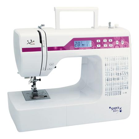 Maquina De Coser Jata Mc823 Con Control De Funciones Electronico