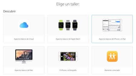 La nueva web de las Apple Store ya está aquí: qué nuevos talleres hay y cómo apuntarse a ellos