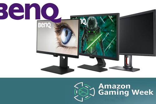 Ofertas en monitores gaming BenQ en la Semana Gaming de Amazon