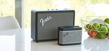 Fender se apunta al mercado de los altavoces inalámbricos y sus nuevas creaciones tienen una pinta estupenda