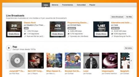 Grooveshark recobra esfuerzos gracias a un acuerdo con la división musical de Sony: ¿nuevas vías para la música en la red?