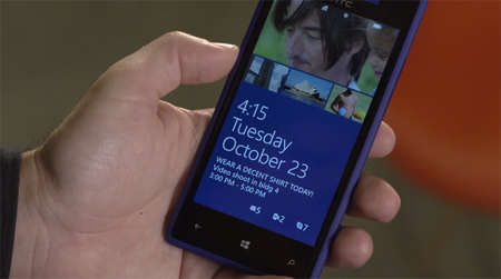 Windows Phone 8,  y su nueva pantalla de bloqueo