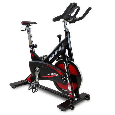 Bicicleta Indoor Sb Mag H9168 Magnetica 20 Kg Pedales Mixtos