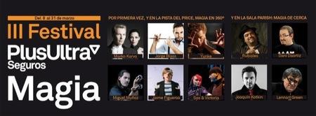 Jorge Blass presenta el III Festival Plus Ultra Seguros de Magia en el Teatro Circo Price para sacar al niño que llevamos dentro
