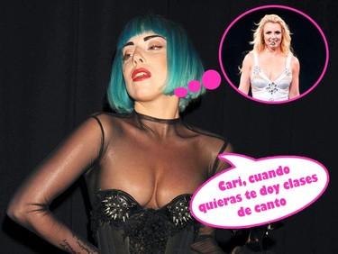 Lady Gaga la lía parda metiéndose con Britney Spears, ¡que comience la pelea de gatas!
