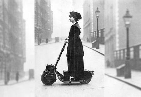 El prodigio que nos enseñó el futuro de los patinetes eléctricos se llamaba Autoped, y ya se usaba en 1915