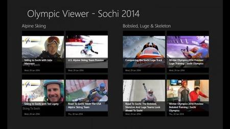 Olympic Viewer Sochi