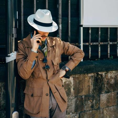 El Mejor Street Style De La Semana Hace Del Sombrero Panama La Estrella De Los Looks De Verano 01